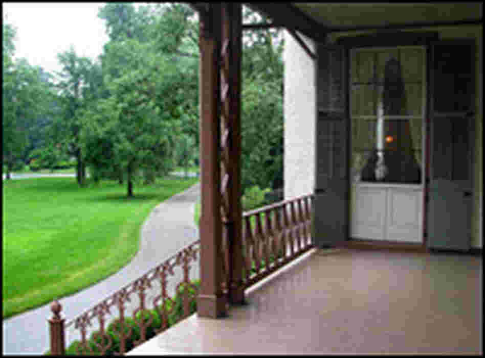 Lincoln's Cottage: Veranda