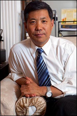 Former democracy activist Zhang Boli