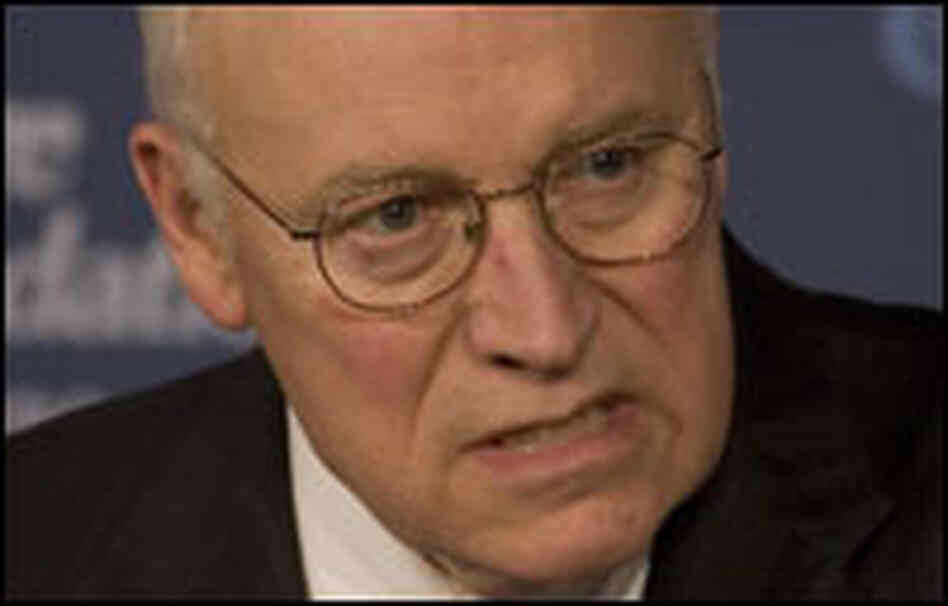 Dick Cheney speaks at the Heritage Foundation.