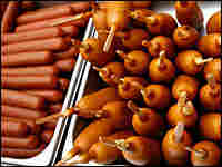 Hot dogs and corn dogs