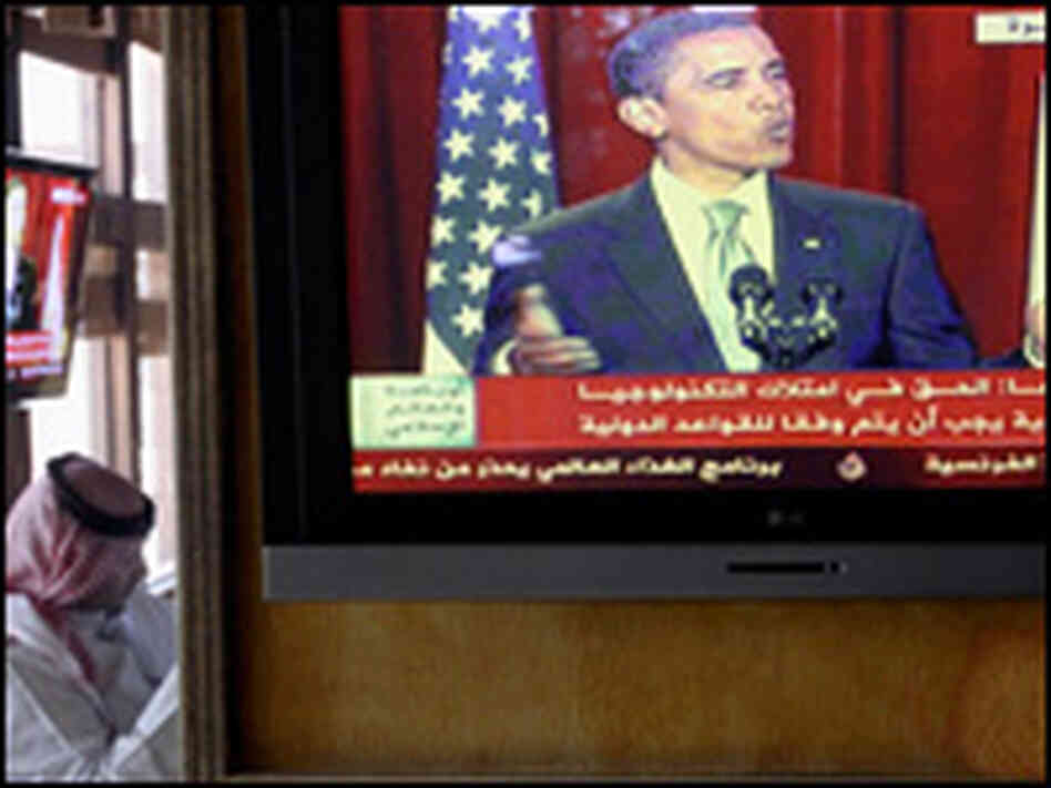 President Obama delivers a speech aired live on June 4 reaching out to the Muslim world.