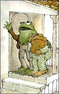 Illustration from Arnold Lobel's 'Frog and Toad Are Friends'
