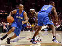Orlando Magic point guard Rafer Alston drives to the hoop during the 2009 NBA Playoffs