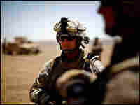 Sgt. Major Bob Breeden, the top enlisted man with the Marine's 2nd Battalion, 8th Regiment.