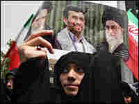 Ahmadinejad supporter