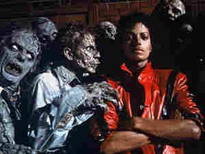 "Michael Jackson in the legendary ""Thriller"" video in 1984."