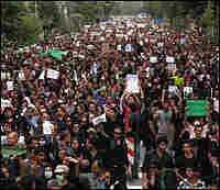A June 18 protest in Iran