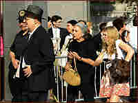 Spectators and victims lined up outside a New York courthouse for Bernard Madoff's sentencing.