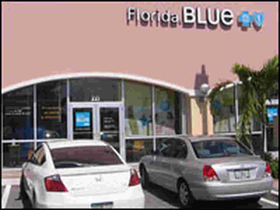 Blue Cross and Blue Shield of Florida's store in Pembroke Pines draws a variety of customers.
