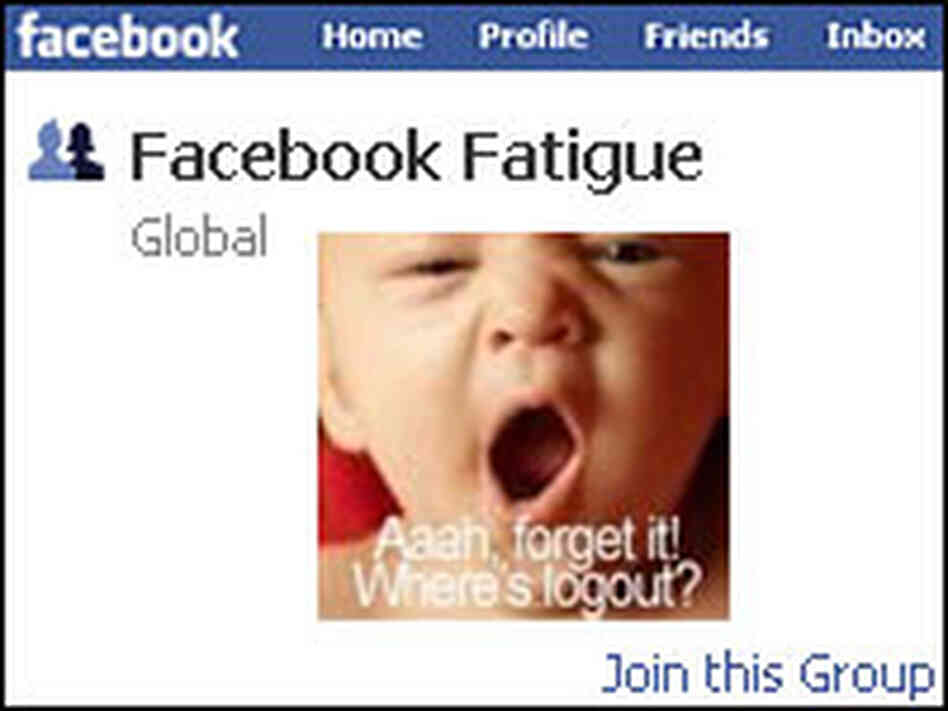 Facebook Fatigue