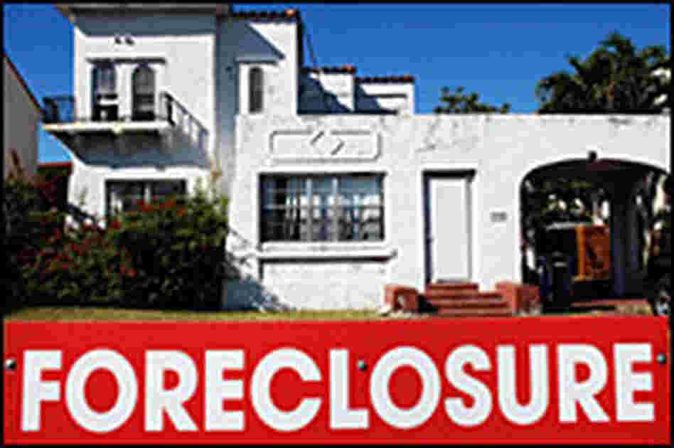 A foreclosure sign in Miami