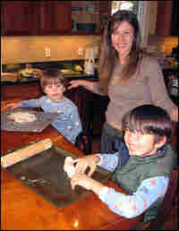 Kate Koffman, with her sons Evan and Aidan.