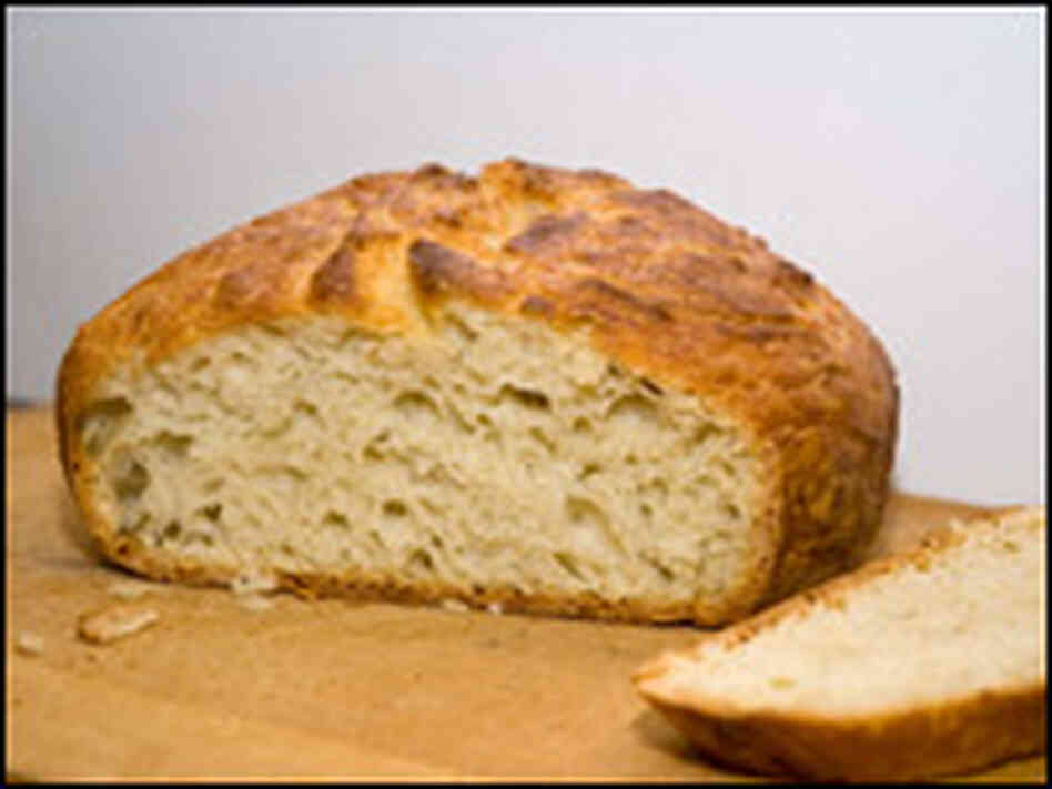 Crusty White Peasant-Style Pot Bread