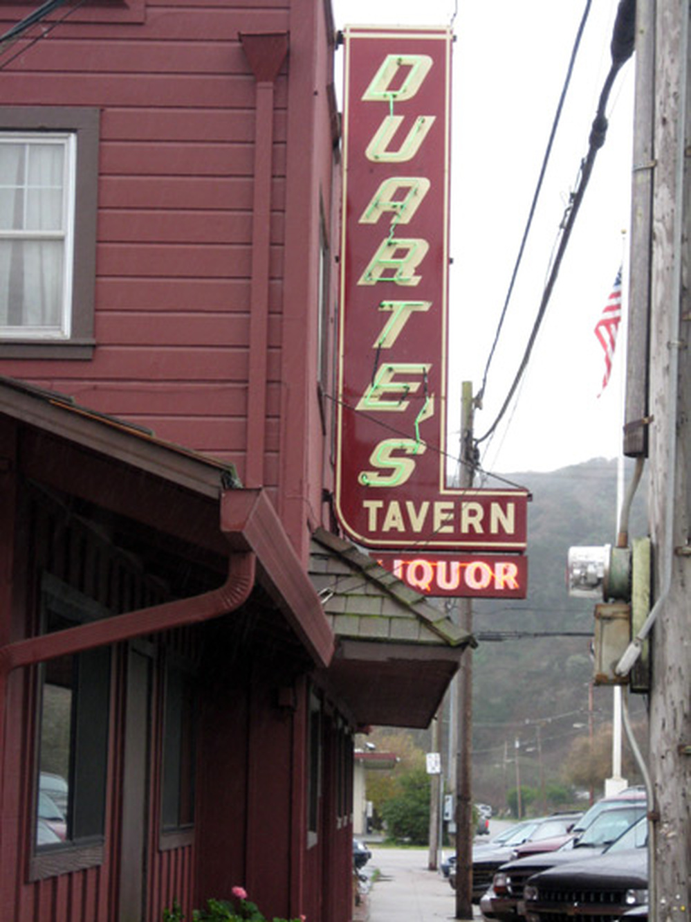 The Duarte's Tavern sign has been around since the 1930s.