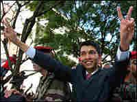 Madagascar opposition leader Andry Rajoelina
