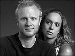 Caitlin Shetterly and husband, Daniel Davis