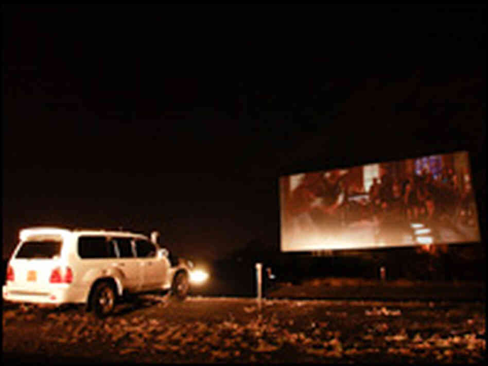 Located in a field on the outskirts of Nairobi, the Fox Drive-In is Kenya's last outdoor theater.