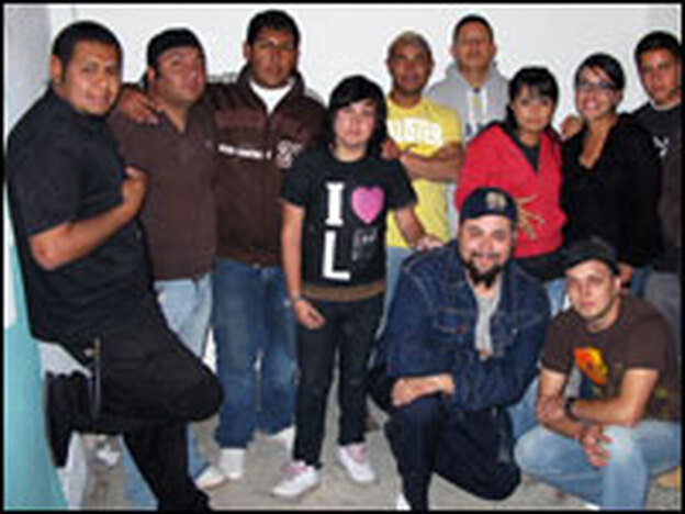 Members of Alta Tropa, or the High Crew, use creativity such as graffiti art, break dancing and hip-hop as an alternative to gangbanging.