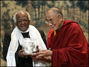 Dalai Lama and Arch