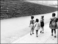 'Bubbles,' New York, circa 1940.