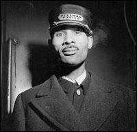 A Pullman porter circa January 1943