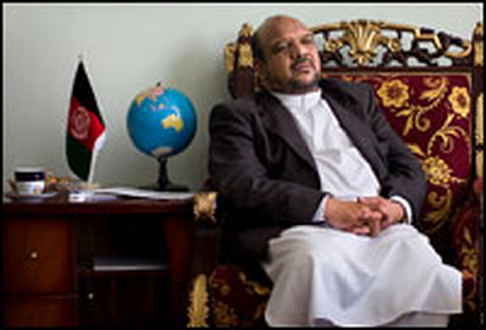 Muhammad Qasim Fahim, Afghan President Hamid Karzai's vice presidential running mate and a powerful warlord, is accused of war crimes during the country's civil war in the 1990s, as well as corruption and coercion. He denies any wrongdoing.