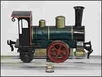 The world's oldest toy locomotive