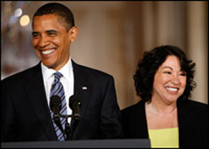 President Obama taps Judge Sonia Sotomayor to replace Justice David Souter on the Supreme Court.