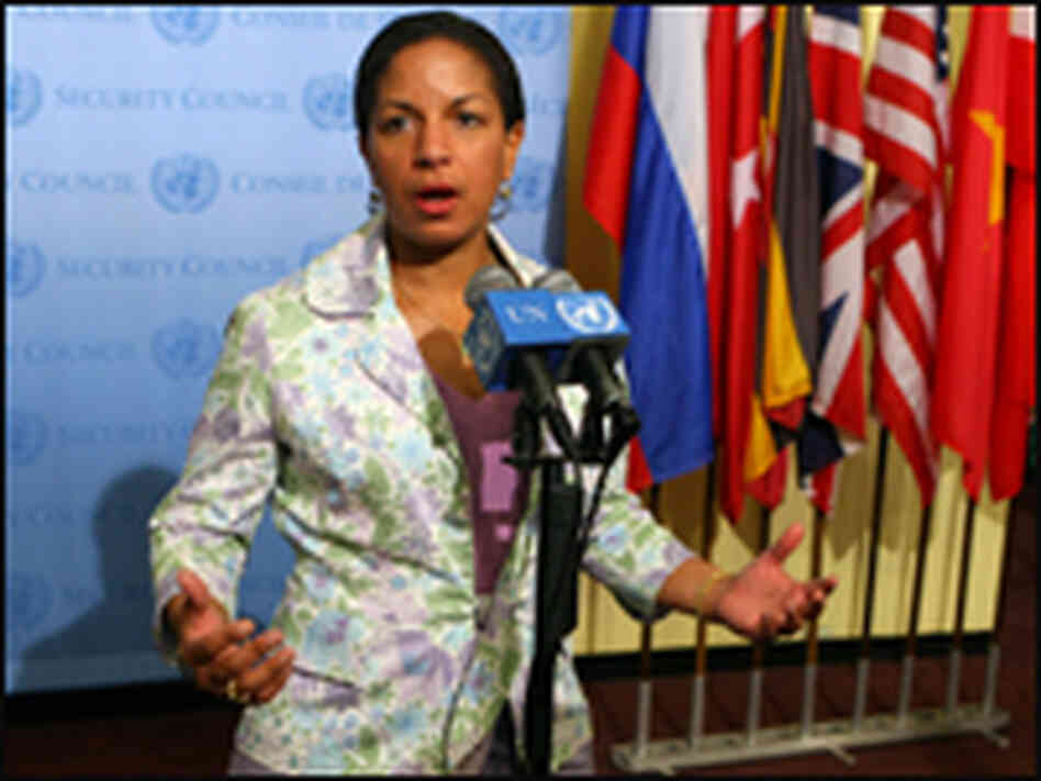 U.S. ambassador to the U.N., Susan Rice