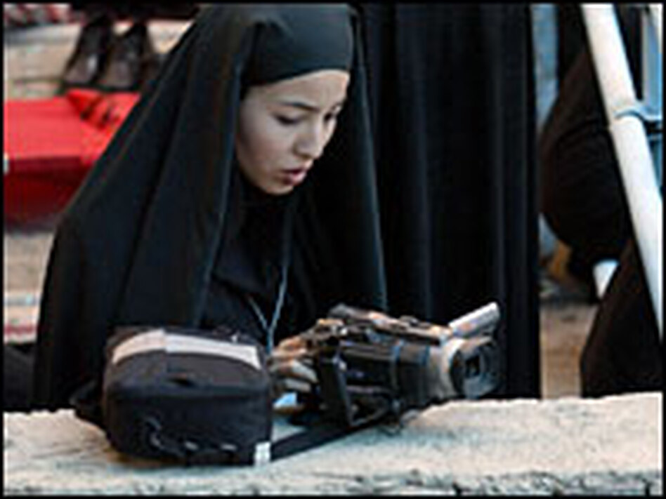 In June 2004, Roxana Saberi filmed a ceremony on the southern outskirts of Tehran  that marked the 15th anniversary of the death of Iran's supreme leader Ayatollah Ruhollah Khomeini. To this day, Saberi says she does not know why she was arrested in January 2009 and forced to spend four months in prison.