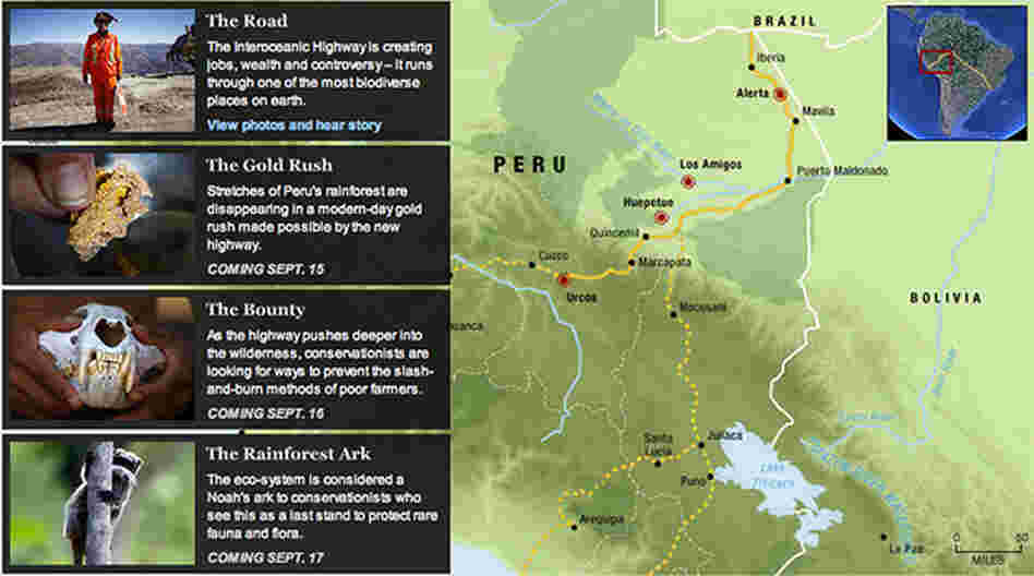Interactive: The Amazon Road