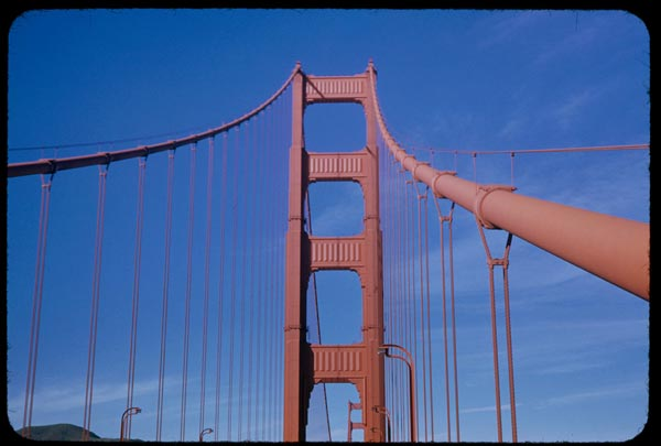 golden gate bridge 1953