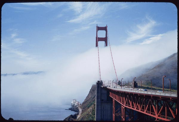 golden gate bridge 1957