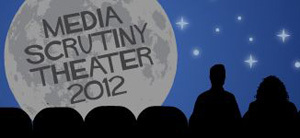 Media Scrutiny Theater 2012 logo