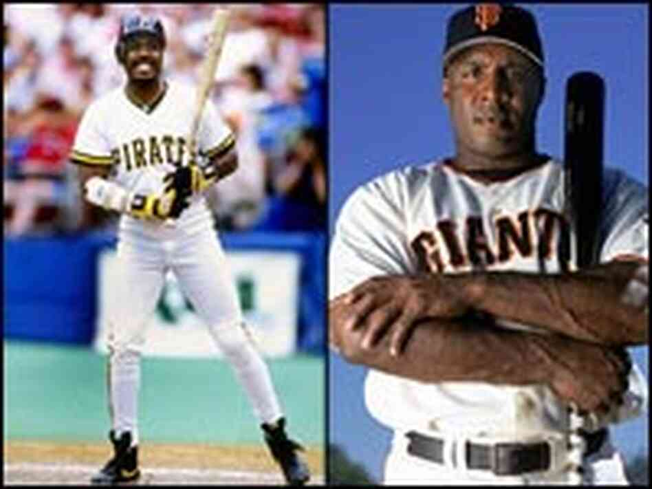 Barry Bonds, then and now