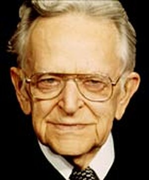 Justice Harry Blackmun in a 1993 photo