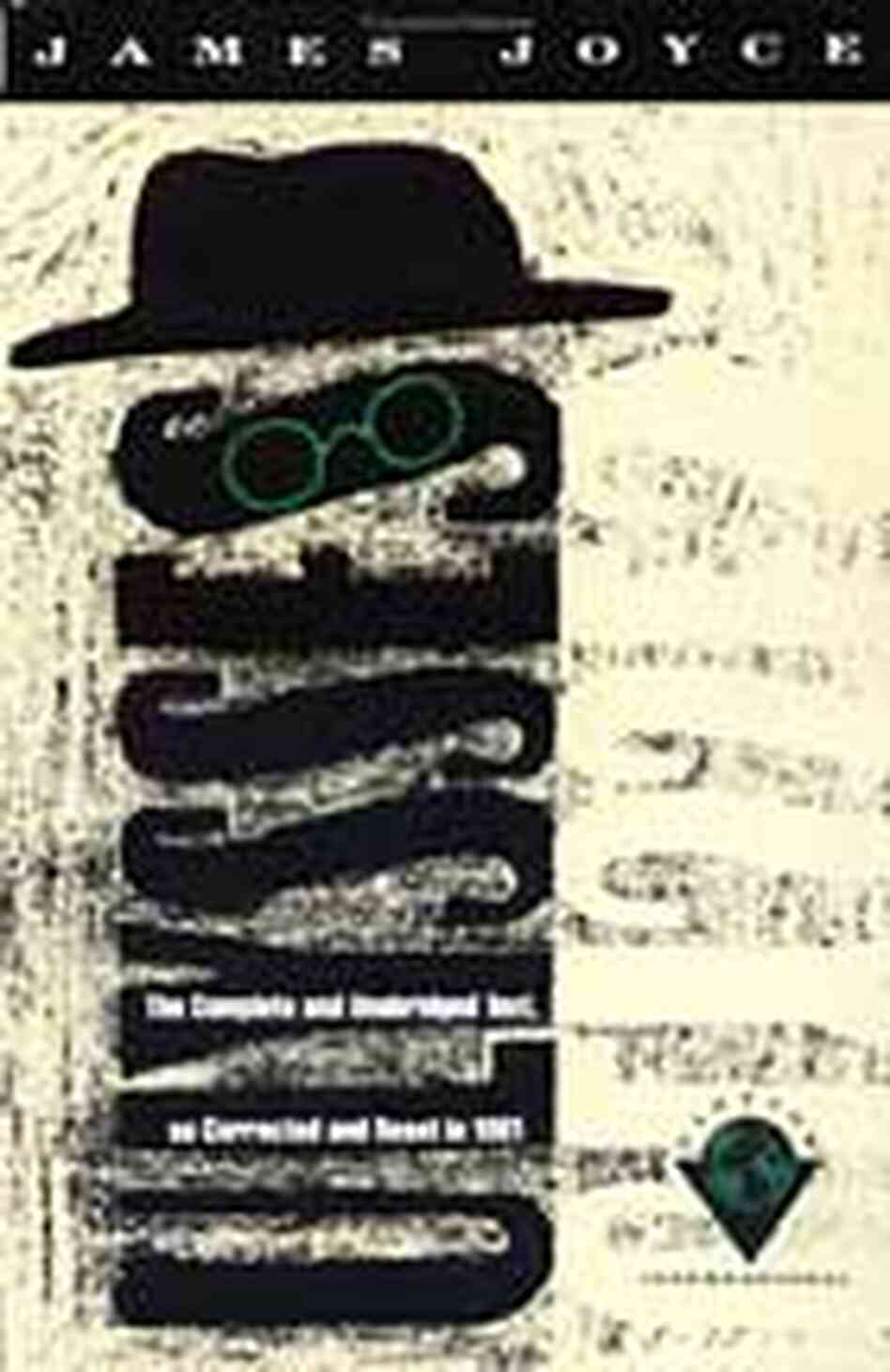 Cover for the Vintage Books USA re-issue of James Joyce's classic, 'Ulysses'
