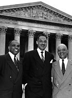 The Brown V Board Of Education Court >> Thurgood Marshall And Brown V Board Of Ed Npr