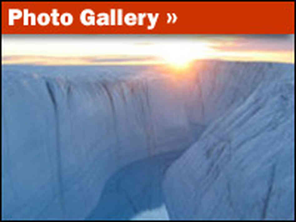 Slideshow: Greenland's Melting Glaciers