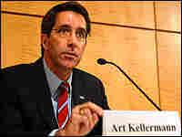 Dr. Art Kellerman Speaking at a press conference in Washington