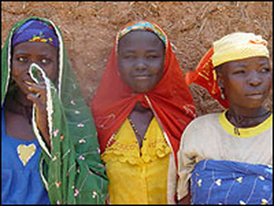 Young mothers in rural Niger.