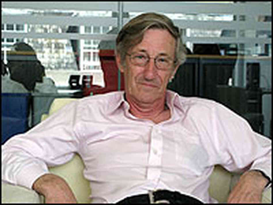 Sir Michael Rawlins in his office at the National Institute for Clinical Excellence
