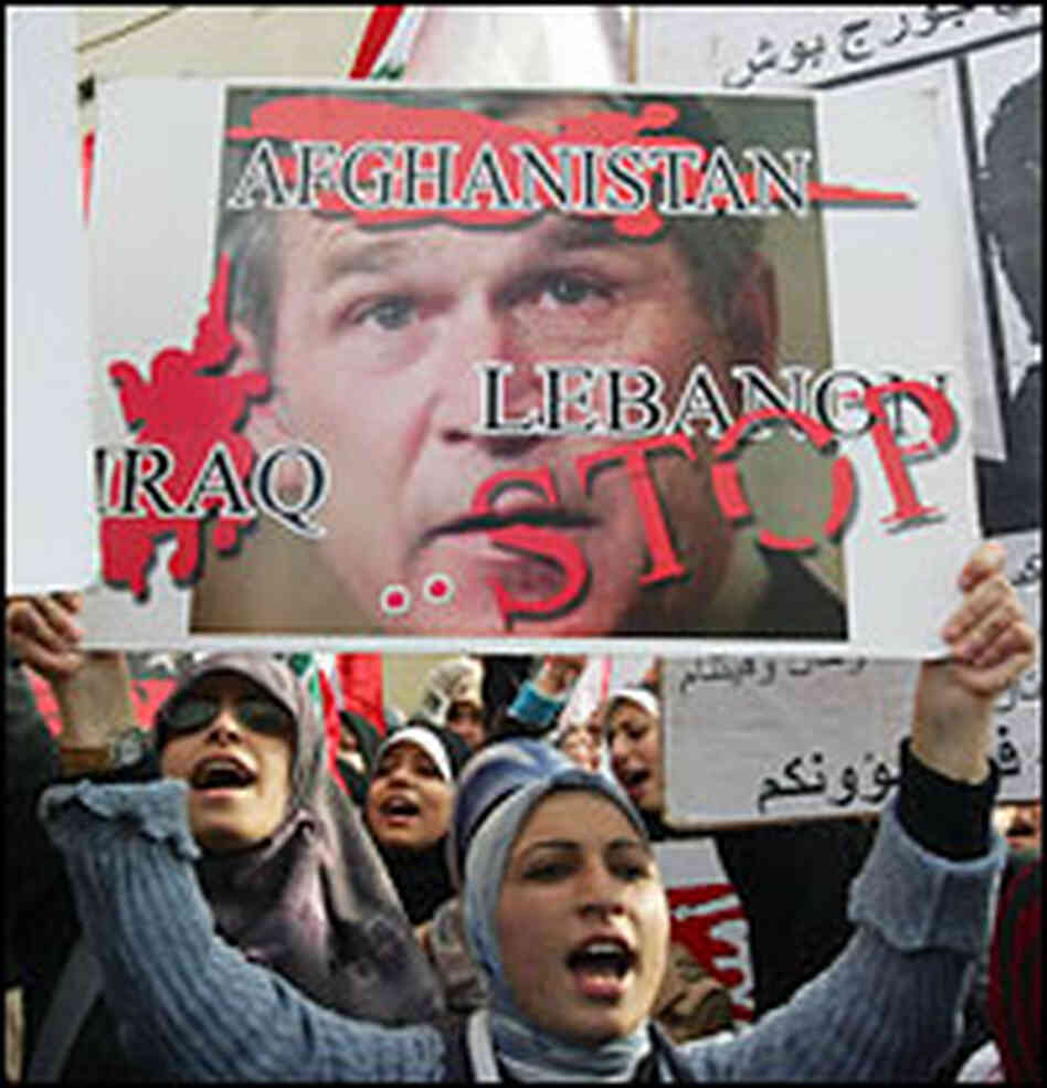 Anti-U.S. protest in Lebanon