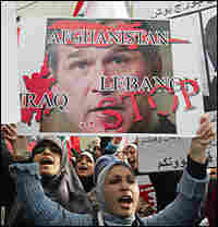 Anti-U.S. protest in Lebanon