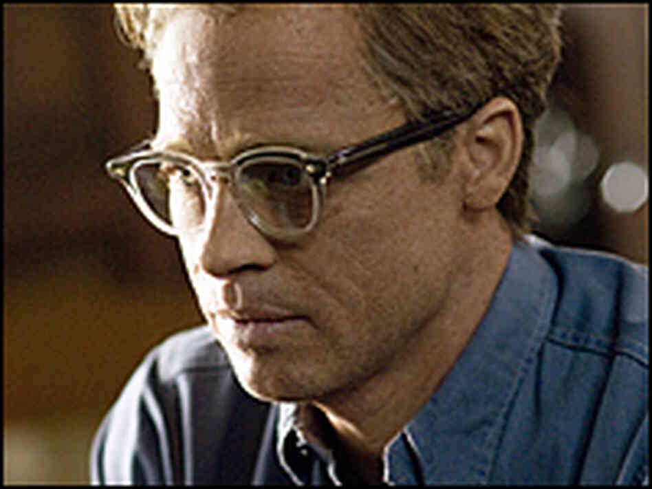 Brad Pitt (computer aged) as Benjamin Button