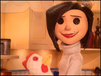Movie Review Coraline A Better Home And Garden But For Those Buttons Npr