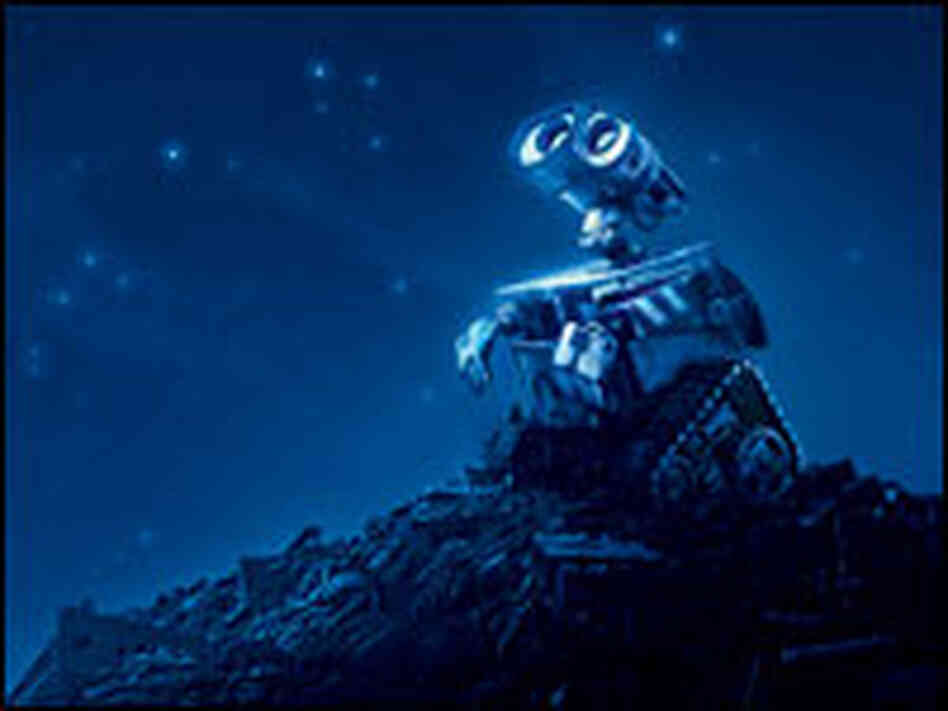 Wall-E rids the planet of its trash.