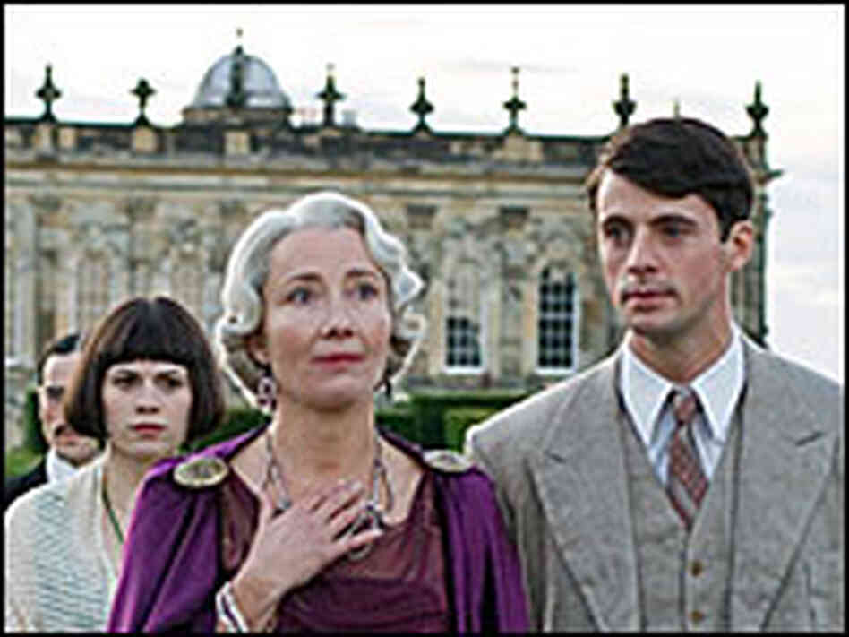 Hayley Atwell, Emma Thompson, and Matthew Goode