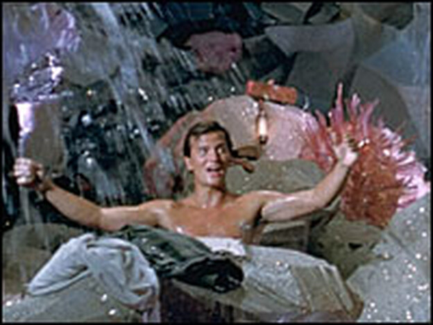 Pat Boone — he was 25 then — provided the teen-scream factor for '50s audiences.