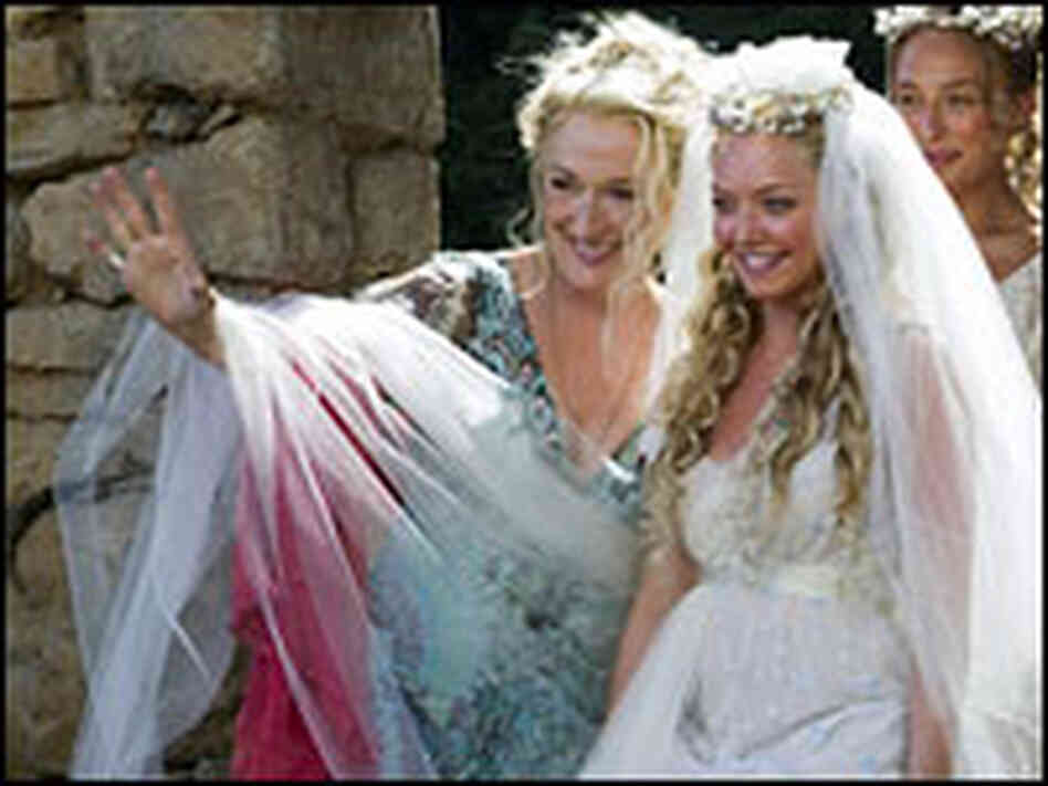 Meryl Streep and Amanda Seyfried in 'Mamma Mia!'